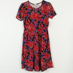 LuLaRoe | HTF Floral Amelia Dress